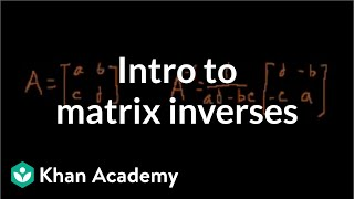 Inverse Matrix (part 1)