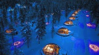 Vlog - Our Stay at Kakslauttanen Igloo Arctic Resort (Finland)  | Bruised Passports