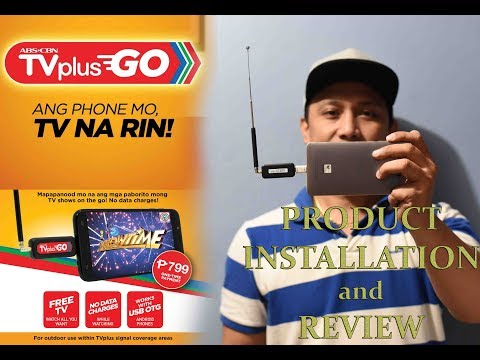 ABS-CBN TVPlus Go Product Review and Installation Guide