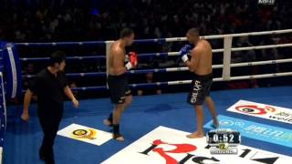 K-1 World MAX 2012 Badr Hari vs Anderson Silva 27.05.2012 (Madrid, Spain)