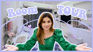 I will miss my room 🥺😭💜 || Room tour 🏠  || Nagma Mirajkar