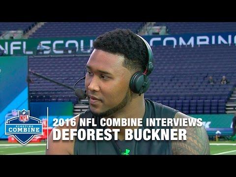 "DeForest Buckner (Oregon, DL): ""I Compare Myself to Calais Campbell""  | 2016 NFL Combine Interviews"