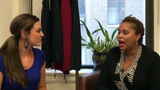 #Unscripted WHO You Should Know: Joi Gordon CEO for Dress for Success at the headquarters in #NYC