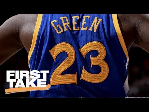 Warriors' Draymond Green A Dirtier Player Than Celtics' Kelly Olynyk? | First Take | May 10, 2017