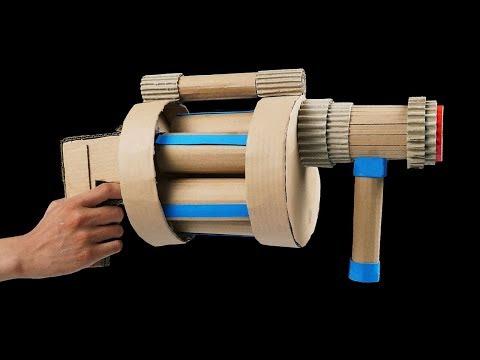 How to Make DIY Cardboard Gun (Batman DIY Projects)