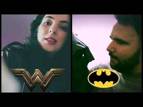 ASMR: BATMAN E WONDER WOMAN - Feat. Vine Bino