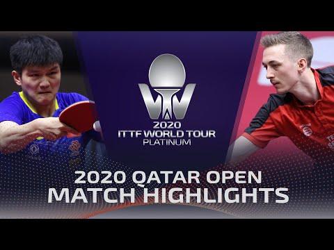 [2020 ITTF Qatar Open (Final)] Fan Zhendong vs Liam Pitchford 2020.3.9