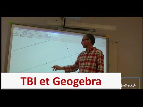 Préparer un cours avec le TBI