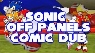 Sonic Off Panels Comic Dub