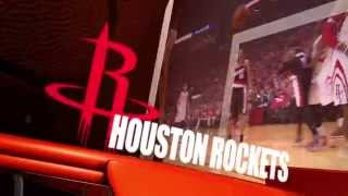 Rocket Launch 2014 - Houston Rockets vs. Golden State Warriors