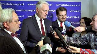 Wicepremier Gowin popiera referendum w Olsztynie