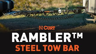 CURT (70001): Rambler™ Steel RV Tow Bar