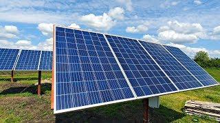 ✅Как ЗАРАБОТАТЬ на Солнечной Энергии торгуя электричеством от самодельной электростанции