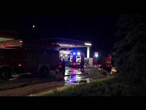 Wideo1: Pożar budynku gospodarczego we Wschowie