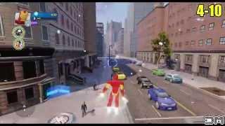 Disney Infinity 2.0 - All Nova Crossover Tokens in Avengers Playset