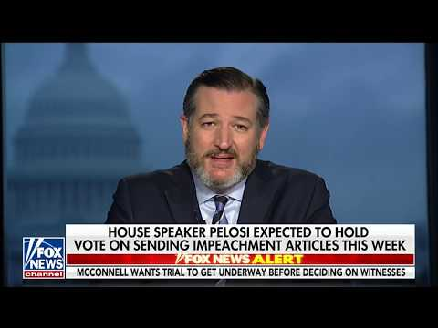 Cruz on America's Newsroom: The Senate Will Hold a Fair Impeachment Trial and Respect Due Process