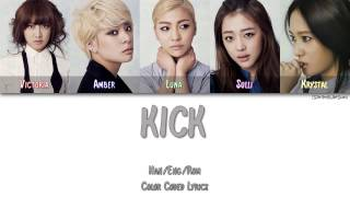 F(X) - KICK [Color Coded Han|Rom|Eng]