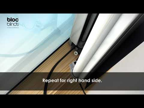 How to Install - Solar Skylight Blind (Roto and Fakro)