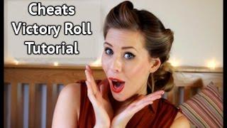Cheats Victory Roll Hair Tutorial | Xameliax