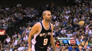 Tony Parker - 43 points vs Mavericks Full Highlights (2009 WC1R GM4) (2009.04.25)