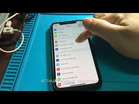 Hướng dẫn quay phim màn hình trên iphone X