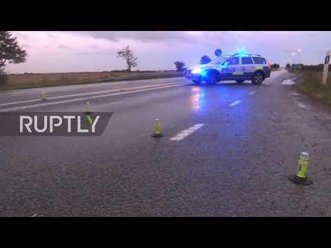 Sweden: Police arrest driver carrying explosives in car