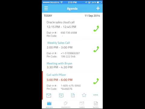 Video of MeetingMogul - Meeting Dialer
