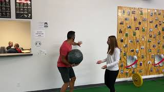 Wednesday Workout Challenge - No Release Medball Exercises