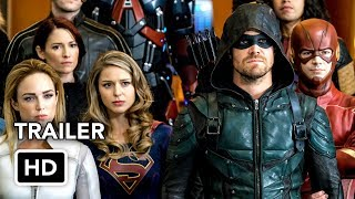 "Сериал ""Стрела"", DCTV Crisis on Earth-X Crossover Full Trailer"