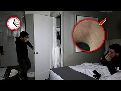 OVERNIGHT CHALLENGE IN THE MOST HAUNTED HOTEL ROOM.. **ATTACKED** | FaZe Rug