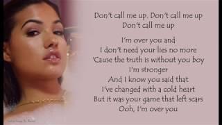 Mabel   Don't Call Me Up   Lyrics Songs
