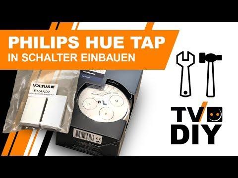 PHILIPS HUE Tap in Schalter einbauen || DIY Smart Home mit VOLTUS || EHAK02