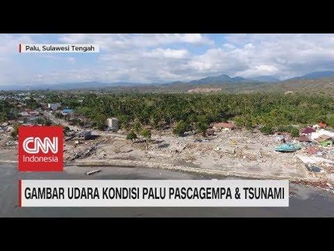Mata Drone, Hancurnya Kondisi Pantai Mamboro Palu Pascagempa & Tsunami