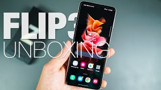 Samsung Galaxy Z Flip3 5G: Unboxing and First Look!
