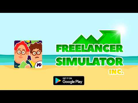 Freelancer Simulator Inc : Game Dev Money Clicker wideo