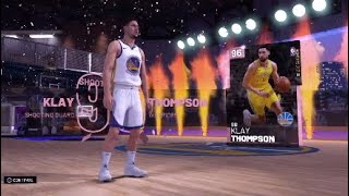 NEW PD KLAY THOMPSON I PULLED HIM OMG!! (MUST SEE)