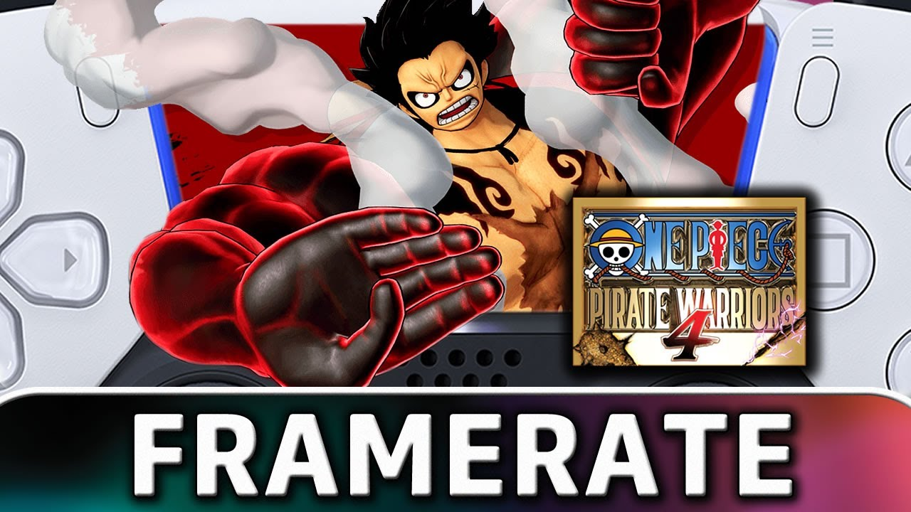 One Piece: Pirate Warriors 4 | PS5 Frame Rate Test (Backwards Compatibility)