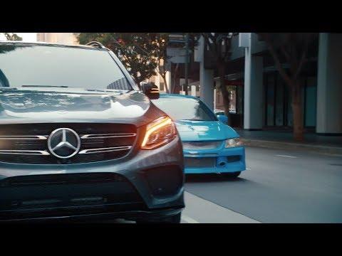 Mercedesbenz Gle Class SUV Кроссовер класса J - рекламное видео 2