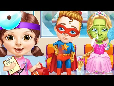 Sweet Baby Girl Superhero Hospital Care Kids Game - Fun Superhero Princess Fairy Care Makeover Fun
