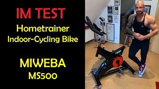 IM TEST: Miweba Profi Cycling Hometrainer MS500
