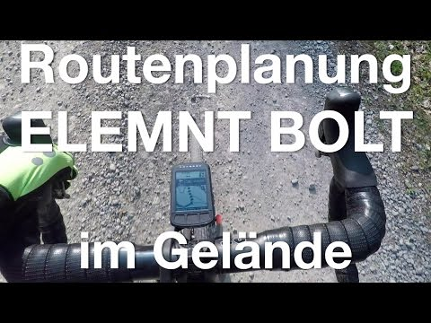 Routenplanung & Navigation mit Wahoo Elemnt Bolt und Komoot. Ausführlicher Praxisbericht.