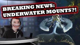 BREAKING NEWS: Underwater Mounts?! - Guild Wars 2 News Update