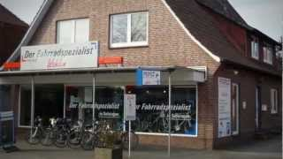 preview picture of video 'Fahrrad Bremervörde Fahrradwerkstatt Fahrradtouren Nordsee E-Bikes Rennräder Profile Wahlen'