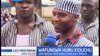Wafungwa gereza kuu la Nakuru wafurahia hafla ya kujumuika na familia zao