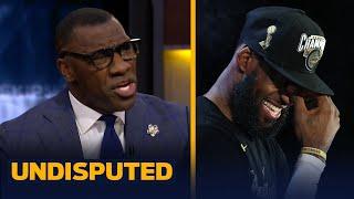 Skip & Shannon react to LeBron's 'Revenge SZN' post & response to critics | NBA | UNDISPUTED