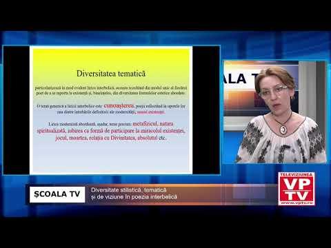 ȘCOALA TV – Diversitate stilistică, tematică și de viziune în poezia interbelică