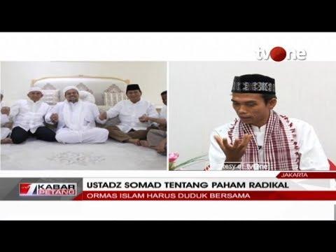 EKSKLUSIF!! Ustadz Abdul Somad Bicara Soal Paham Radikal