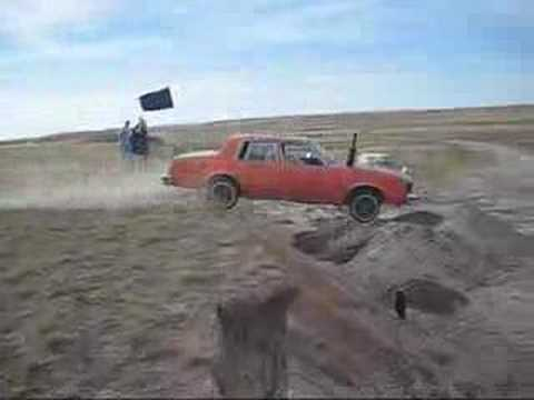 Car Off Cliff