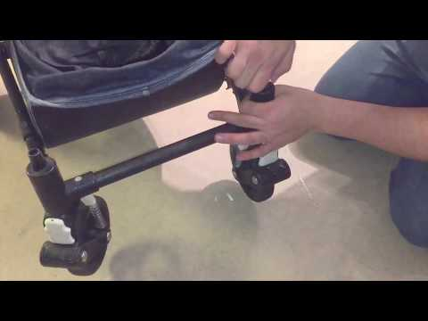 How to Attach Winter Wheels on a Bugaboo Cameleon 2