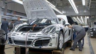 How Porsche 911 Carrera is made...